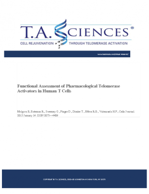 Functional Assessment of Pharmacological T.A. in Human T Cells